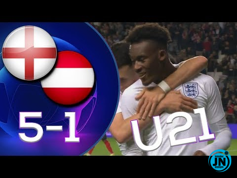England U21 vs Australia U21  5-1 All Highlights & Goals